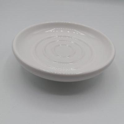 Piattino ceramica BERTOCCI SERIE SCACCO (ricambio)
